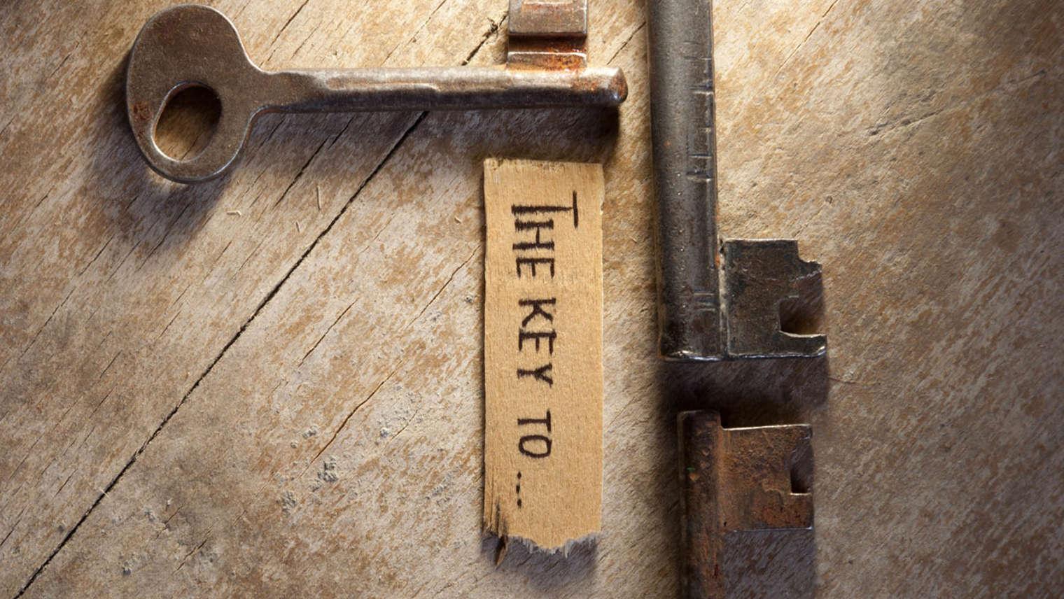 Keys to Vitality… Cornerstones to Health!